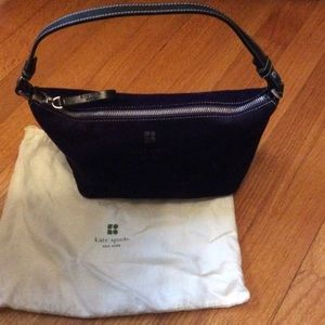 Kate Spade Purple Suede Purse